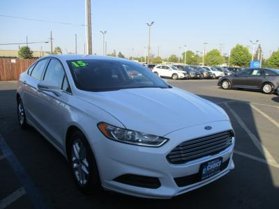 used 2015 Ford Fusion car, priced at $9,997