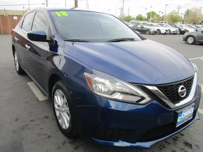 used 2018 Nissan Sentra car, priced at $9,997