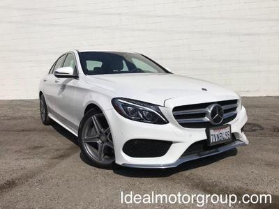 used 2017 Mercedes-Benz C-Class car, priced at $31,998