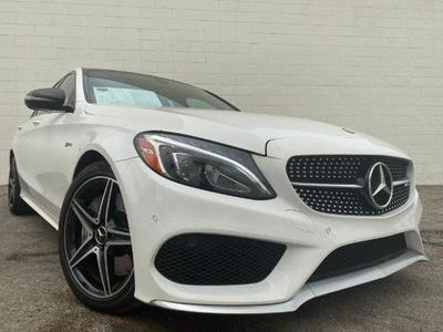 used 2017 Mercedes-Benz AMG C 43 car, priced at $39,990