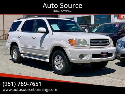 used 2002 Toyota Sequoia car, priced at $6,997