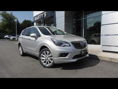 new 2017 Buick Envision car, priced at $43,654