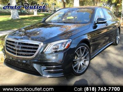 used 2018 Mercedes-Benz S-Class car, priced at $71,998