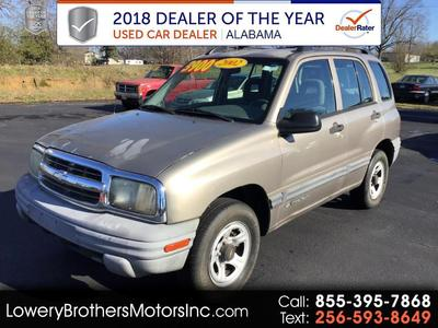 used 2002 Chevrolet Tracker car, priced at $3,900