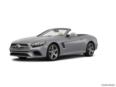 new 2020 Mercedes-Benz SL 550 car, priced at $120,245