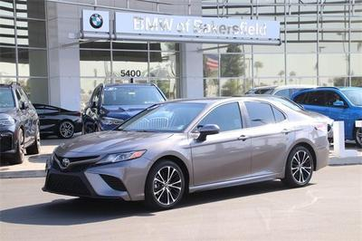used 2018 Toyota Camry car, priced at $19,629