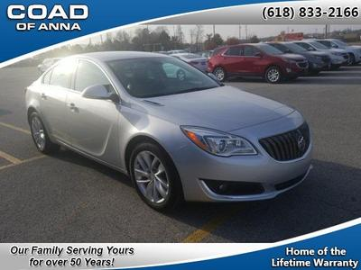 used 2017 Buick Regal car, priced at $18,636