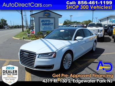 used 2015 Audi A8 car, priced at $34,990