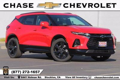 new 2021 Chevrolet Blazer car, priced at $45,470