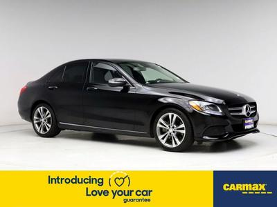 used 2016 Mercedes-Benz C-Class car, priced at $22,998