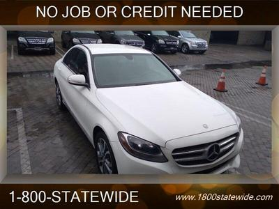 used 2015 Mercedes-Benz C-Class car