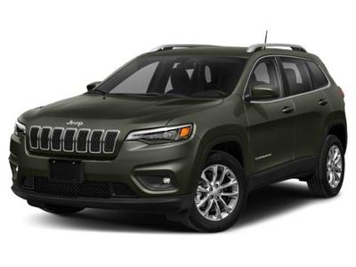 new 2021 Jeep Cherokee car