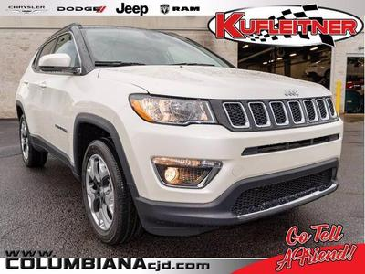new 2020 Jeep Compass car, priced at $27,499