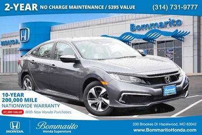 new 2021 Honda Civic car, priced at $22,005