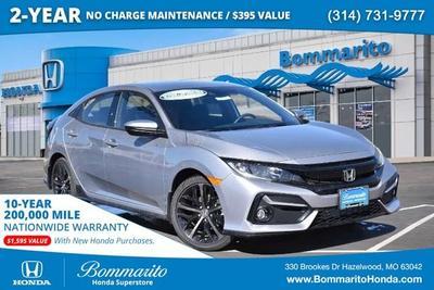 new 2021 Honda Civic car, priced at $24,855