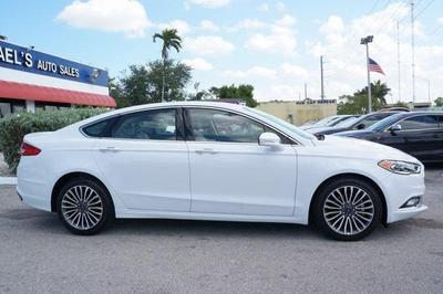 used 2018 Ford Fusion car, priced at $17,987