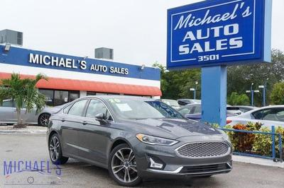 used 2020 Ford Fusion car, priced at $20,999