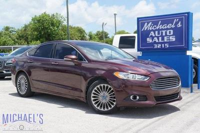 used 2013 Ford Fusion car, priced at $8,999