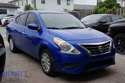 used 2017 Nissan Versa car, priced at $8,999