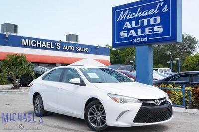 used 2017 Toyota Camry car, priced at $11,999