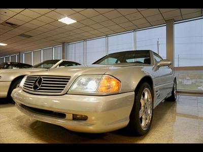 used 2002 Mercedes-Benz SL-Class car, priced at $247,799