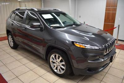used 2017 Jeep Cherokee car, priced at $19,995