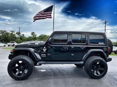 used 2020 Jeep Wrangler Unlimited car, priced at $54,890
