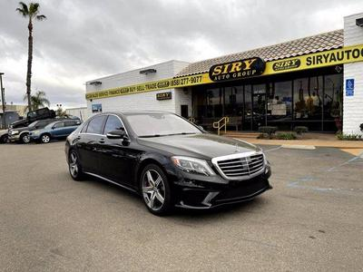used 2017 Mercedes-Benz AMG S 63 car, priced at $79,999