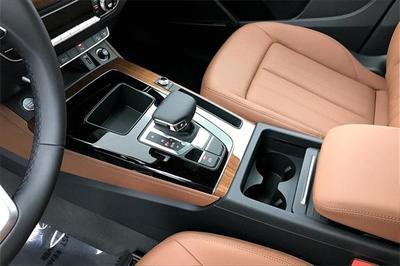 new 2021 Audi Q5 car, priced at $52,390