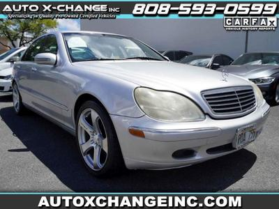 used 2000 Mercedes-Benz S-Class car, priced at $5,900