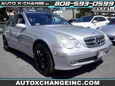 used 2003 Mercedes-Benz C-Class car, priced at $5,900