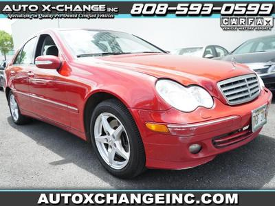 used 2005 Mercedes-Benz C-Class car, priced at $5,900