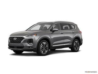 new 2019 Hyundai Santa Fe car, priced at $35,850
