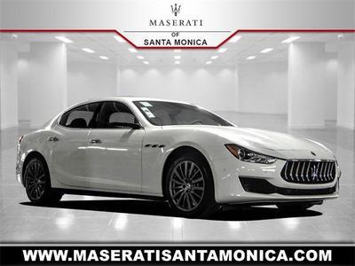 new 2021 Maserati Ghibli car