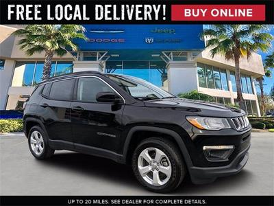 new 2021 Jeep Compass car, priced at $28,608