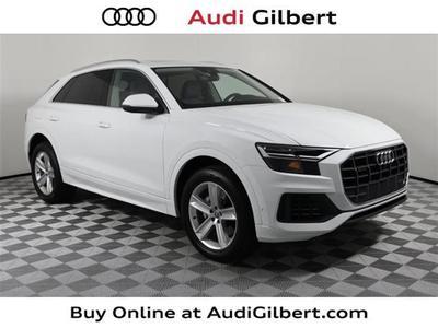 new 2021 Audi Q8 car, priced at $71,020