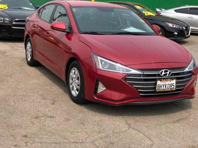used 2019 Hyundai Elantra car, priced at $15,500