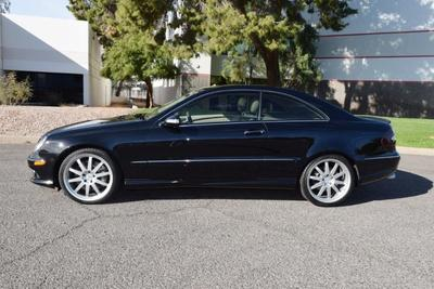 used 2009 Mercedes-Benz CLK-Class car, priced at $16,349