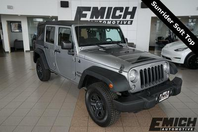 used 2015 Jeep Wrangler Unlimited car, priced at $23,591