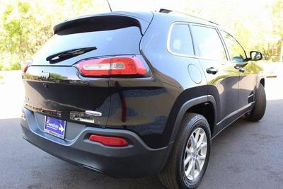 used 2017 Jeep Cherokee car, priced at $13,500