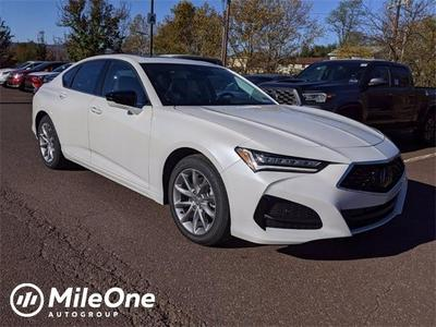 new 2021 Acura TLX car, priced at $41,025
