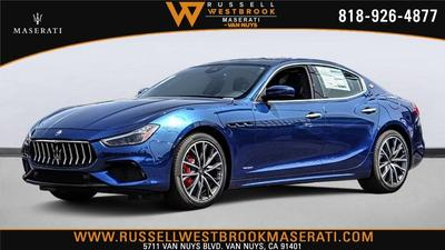 new 2020 Maserati Ghibli car, priced at $78,926