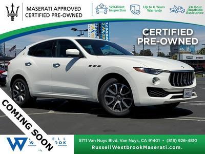 used 2020 Maserati Levante car, priced at $65,783