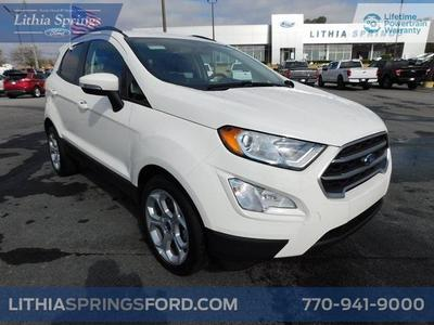 new 2021 Ford EcoSport car, priced at $21,746