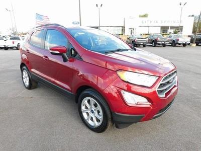new 2021 Ford EcoSport car, priced at $21,652
