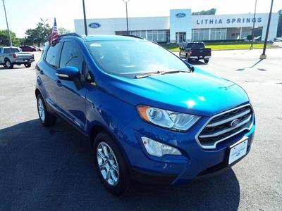 new 2020 Ford EcoSport car, priced at $16,000