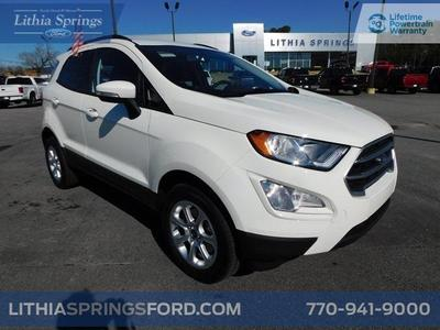 new 2021 Ford EcoSport car, priced at $22,731