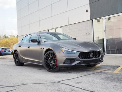 new 2021 Maserati Ghibli car, priced at $97,454