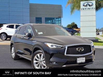 new 2021 INFINITI QX50 car, priced at $43,930