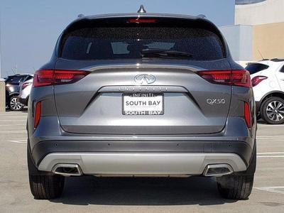 new 2021 INFINITI QX50 car, priced at $48,085